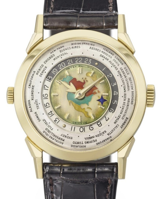 Patek REFERENCE 2523 WORLD TIME