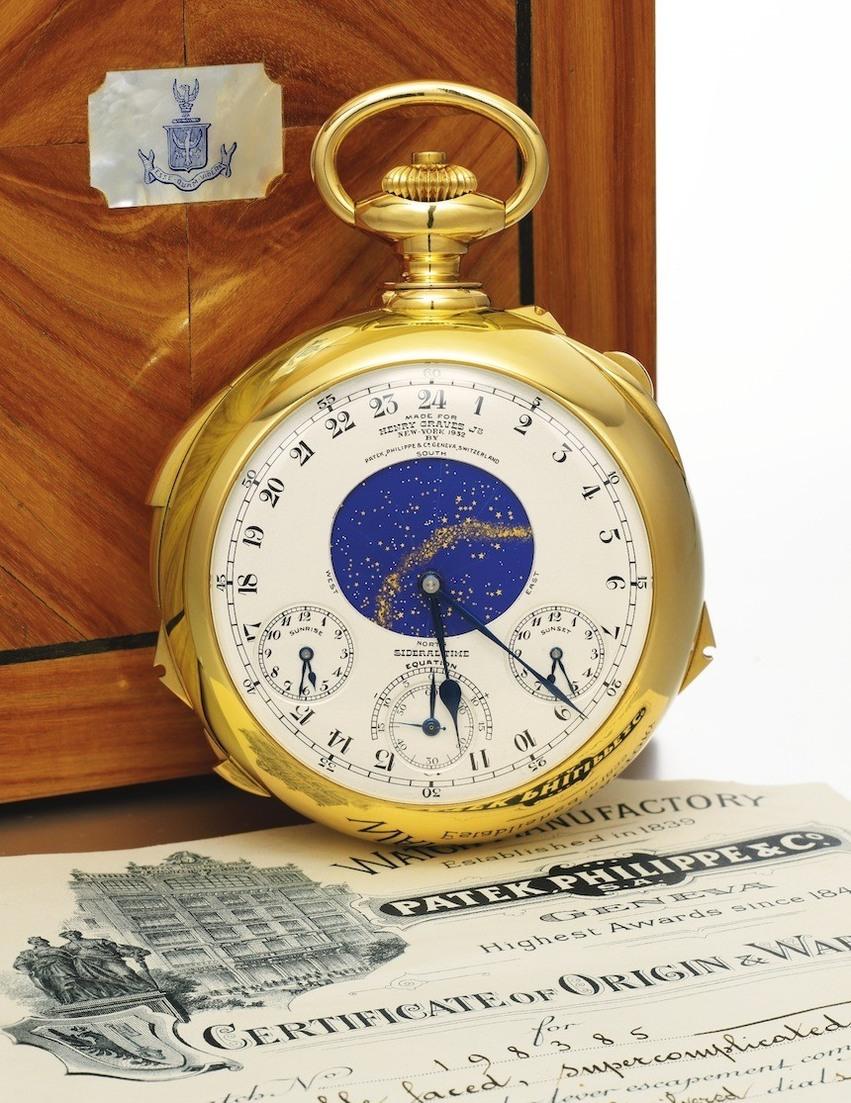sat napravljen za Gravesa Jr.