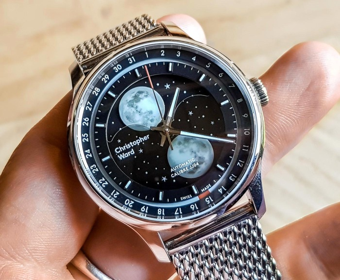 christopher ward C1 Moonglow sat