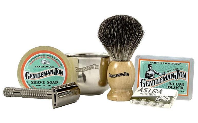 set za mokro brijanje