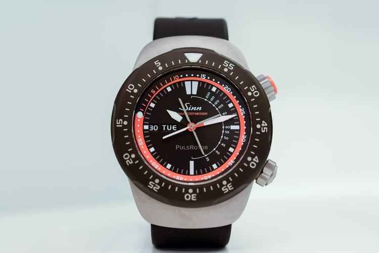 Sinn EZM 12 Air Rescue Watch Hands-On