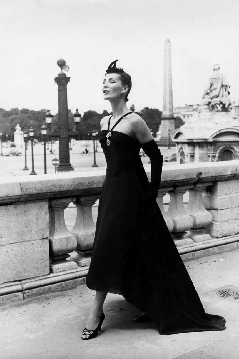 Christian Dior, New Look mala crna haljina