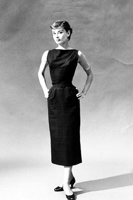 Audrey Hepburn mala crna haljina, Doručak kod Tiffanyja