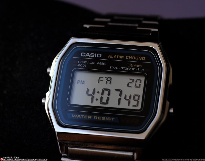Casio classic men collection watch