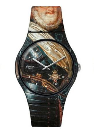 Swatch Louvre watch